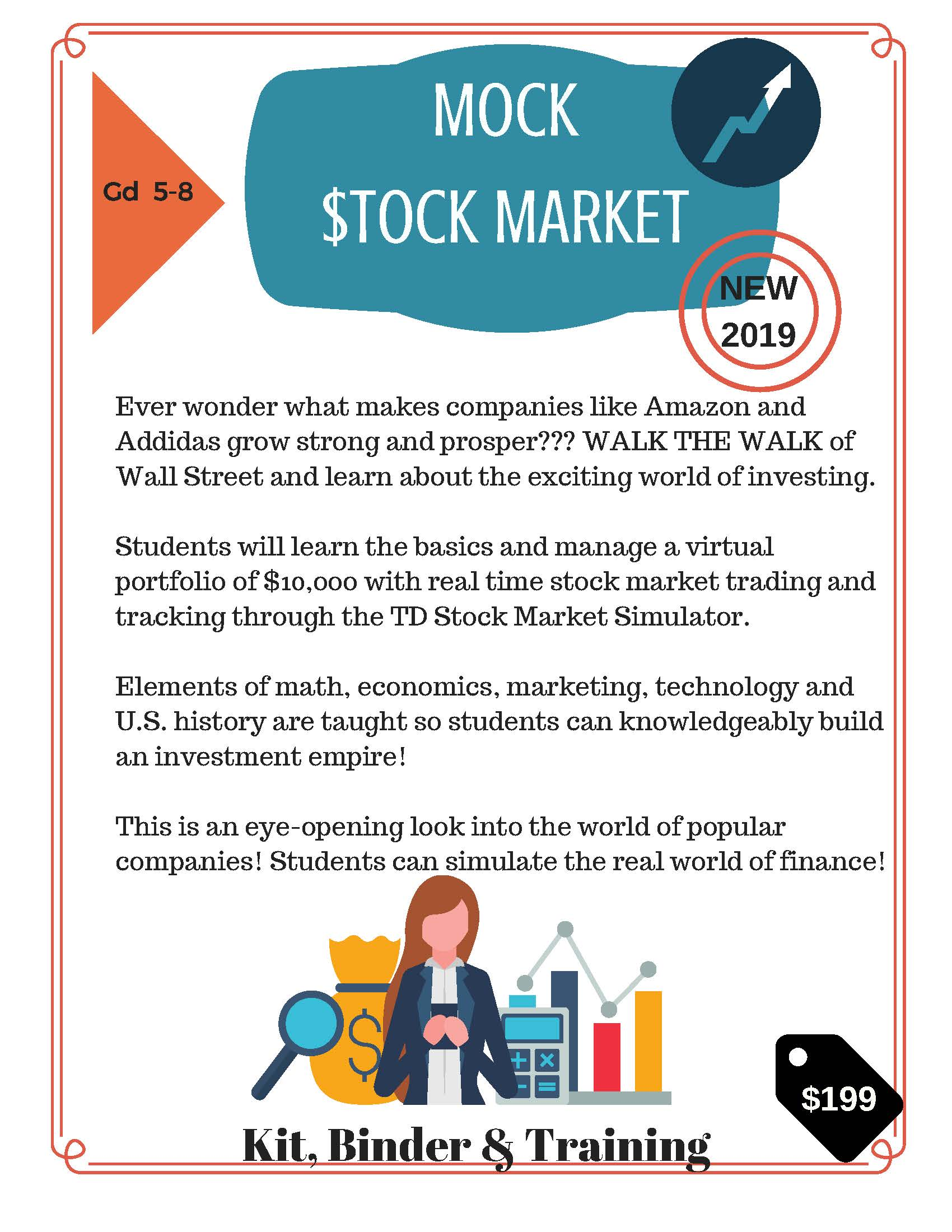 New Companies On The Stock Market 2020 2019 2020 STREAM Academy   MOCK STOCK MARKET   Product Details